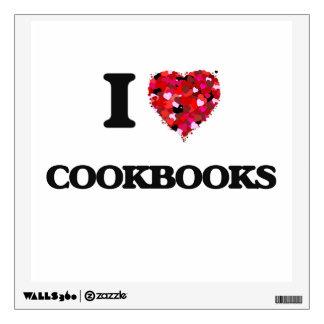 I love Cookbooks Wall Skins
