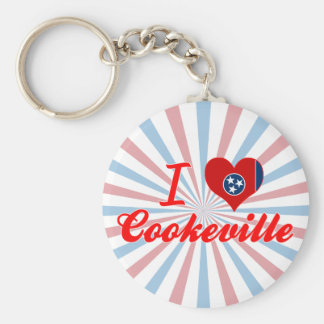 I Love Cookeville, Tennessee Key Chains