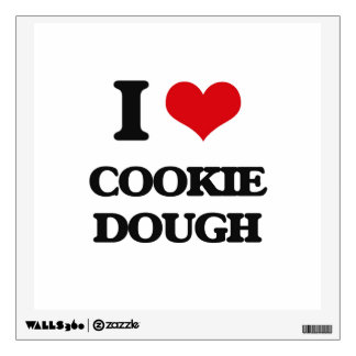 I love Cookie Dough Room Sticker