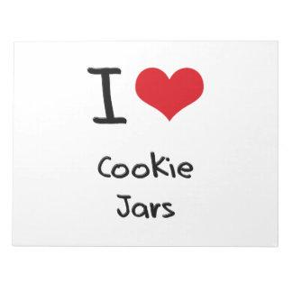 I love Cookie Jars Memo Pads
