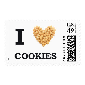 I Love Cookies Stamp