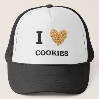 I Love Cookies Trucker Hat