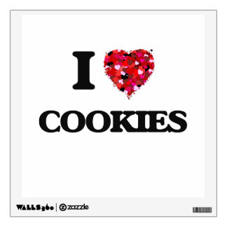 I love Cookies Room Stickers