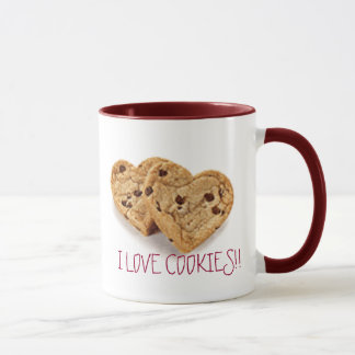 I LOVE COOKIES!!, YUMMY COOKIES!!! MUG