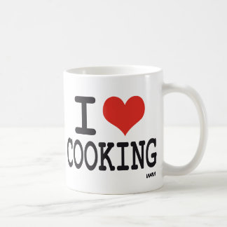 I LOVE COOKING COFFEE MUG