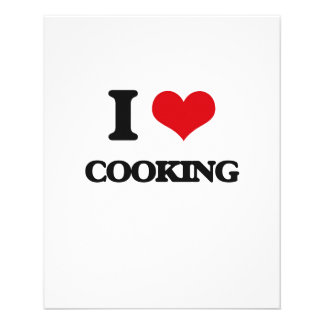 I love Cooking Personalized Flyer