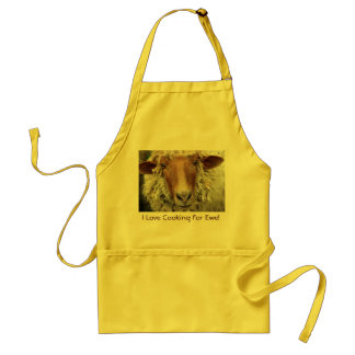 I Love Cooking For Ewe: Adult Apron