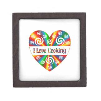 I Love Cooking Jewelry Box