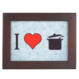 I Love Cooking Keepsake Box