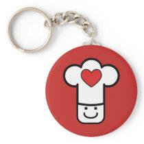 I Love Cooking Keychain