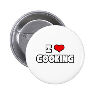 I Love Cooking Pinback Button