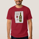 I LOVE COOKING WITH WINE SOMETIMES I EVEN PUT IT I T-Shirt
