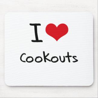 I love Cookouts Mousepad