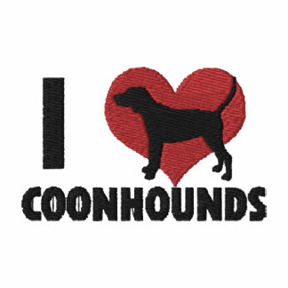 I Love Coonhounds