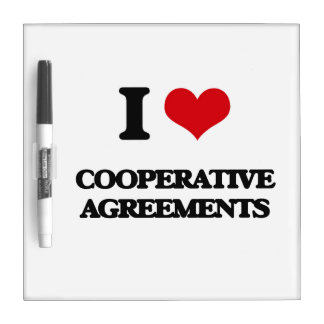 I love Cooperative Agreements Dry Erase Boards
