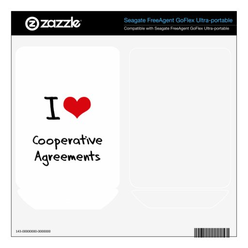I love Cooperative Agreements Skin For FreeAgent GoFlex