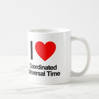 i love coordinated universal time coffee mug