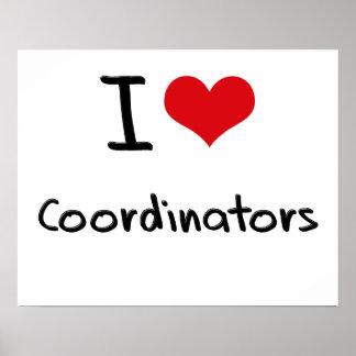 I love Coordinators Poster