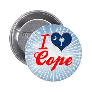 I Love Cope, South Carolina Pins
