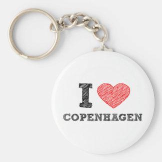 I love Copenhagen Keychain