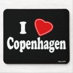 I Love Copenhagen Mousepad