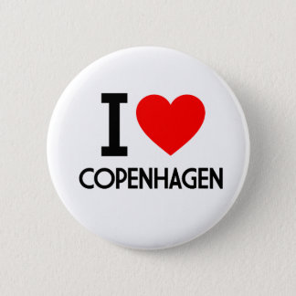 I Love Copenhagen Pinback Button