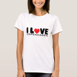 I love Copenhagen | T-Shirt