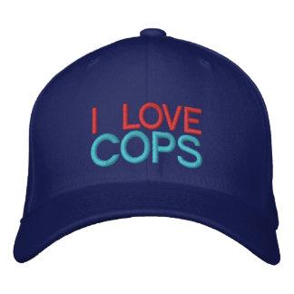 I LOVE COPS - Customizable Baseball Cap