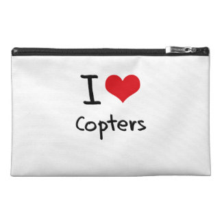 I love Copters Travel Accessories Bags