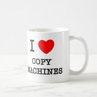I Love Copy Machines Mug