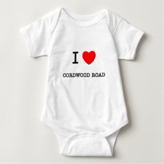 I Love Cordwood Road Massachusetts Tshirts