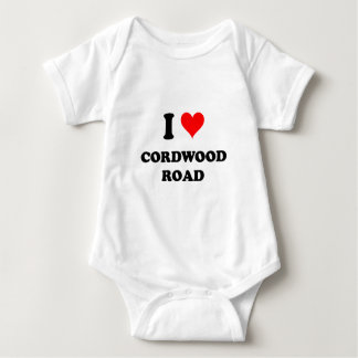 I Love Cordwood Road Tshirts