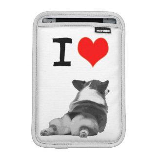 I Love Corgi Butts iPad Mini Sleeves