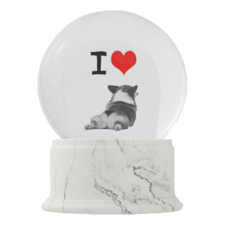 I love Corgi Butts Snow Globe
