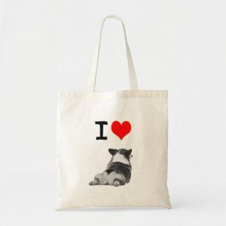 I love Corgi Butts Tote Bag