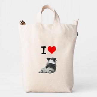 I Love Corgis Duck Bag