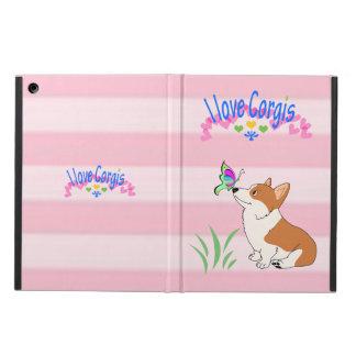I Love Corgis iPad Air Covers
