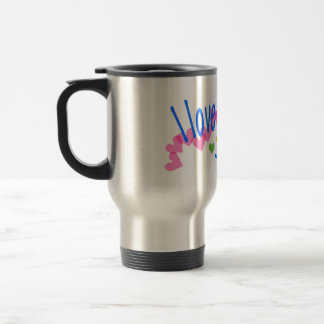 I love Corgis with Hearts Coffee Mugs