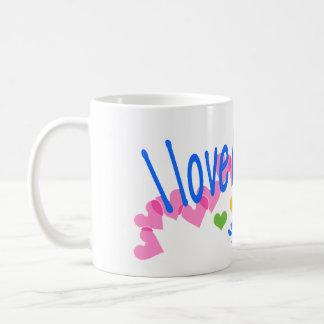 I love Corgis with Hearts Mugs