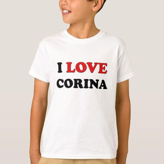 I Love Corina T-Shirt