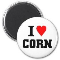 i LOVE CORN Magnet