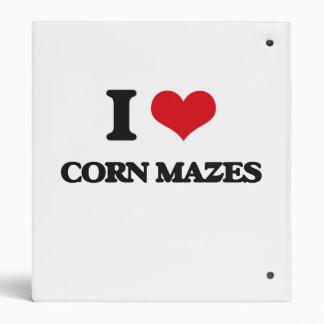 I love Corn Mazes Vinyl Binders