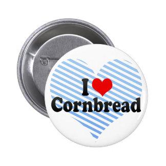 I Love Cornbread Pinback Button
