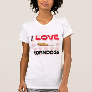 I Love Corndogs Shirt