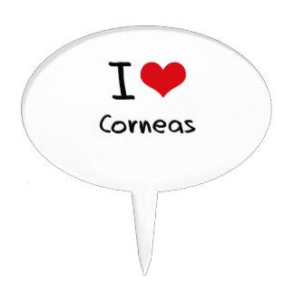 I love Corneas Cake Topper