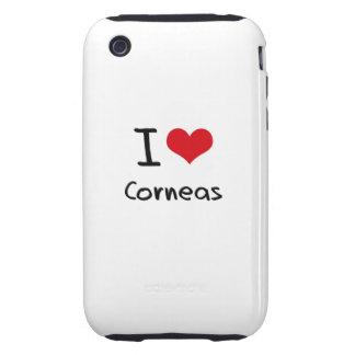 I love Corneas Tough iPhone 3 Case
