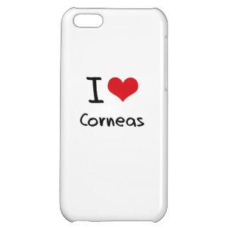 I love Corneas iPhone 5C Cases