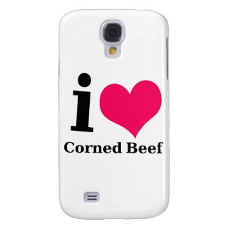 I love Corned Beef Samsung Galaxy S4 Cases
