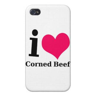 I love Corned Beef iPhone 4/4S Case