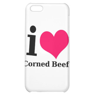 I love Corned Beef Case For iPhone 5C